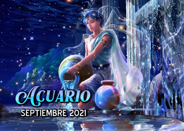 Horóscopo de Acuario para septiembre del 2021