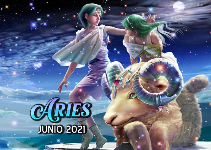 Horóscopo de Aries para junio del 2021