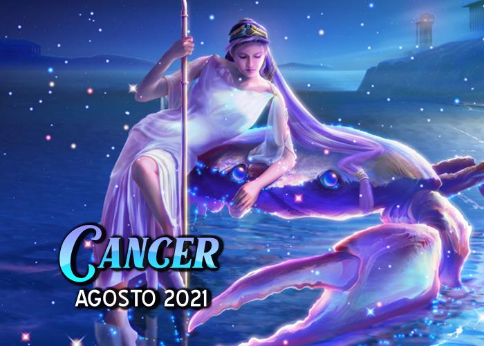 Horóscopo de Cáncer para agosto del 2021