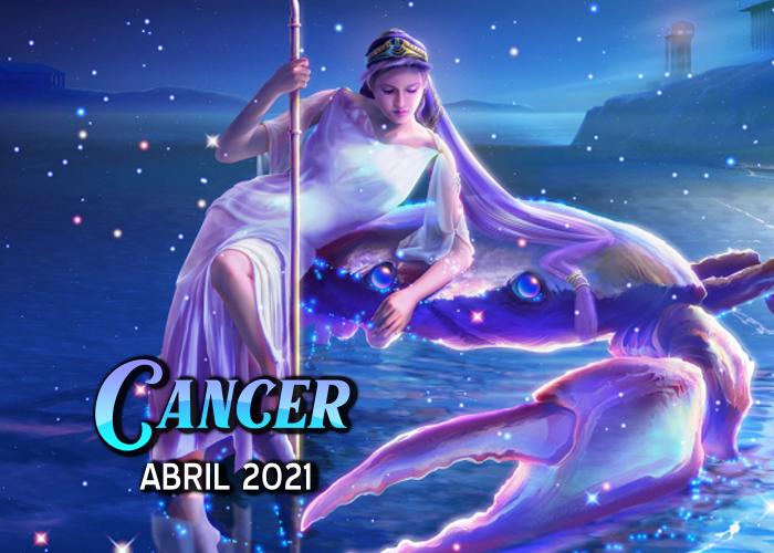 Horóscopo de Cáncer para abril del 2021