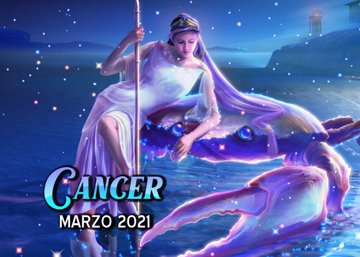 Horóscopo de Cáncer para marzo del 2021