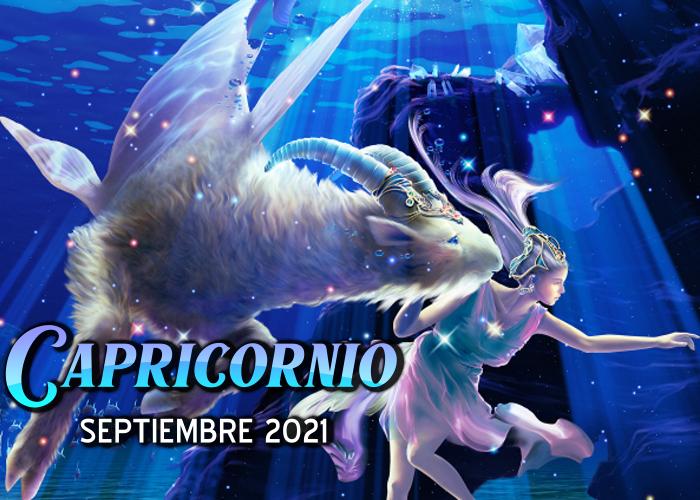 Horóscopo de Capricornio para septiembre del 2021