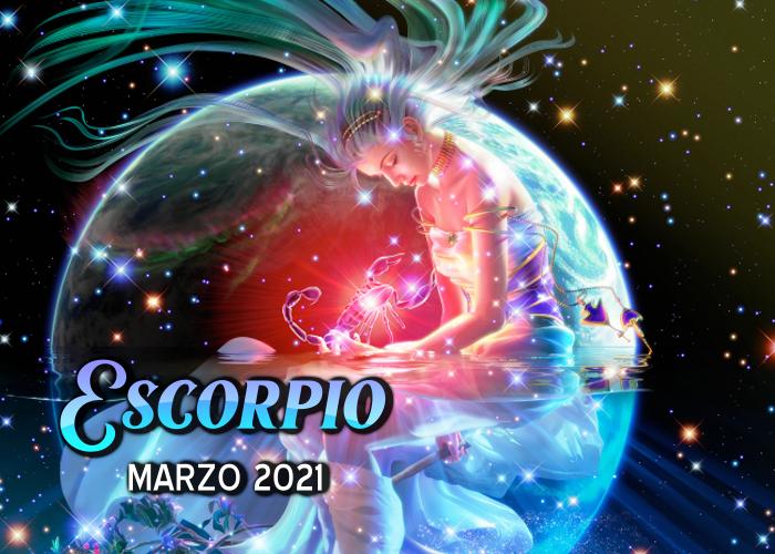 Horóscopo de Escorpio para marzo del 2021