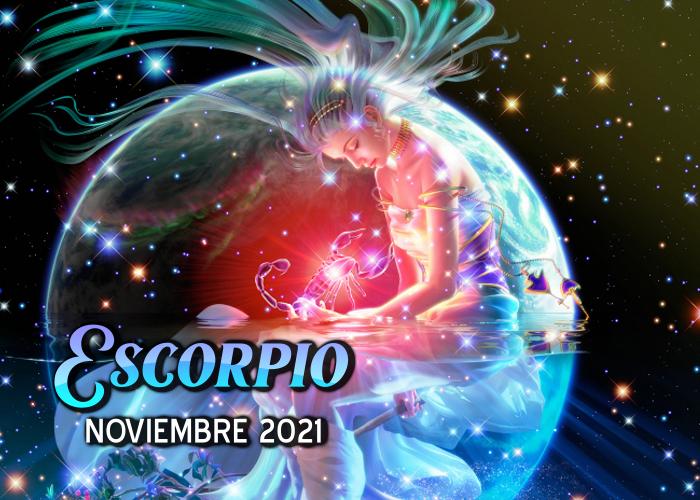 Horóscopo de Escorpio para noviembre del 2021