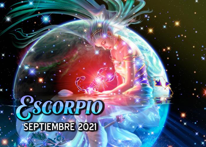 Horóscopo de Escorpio para septiembre del 2021