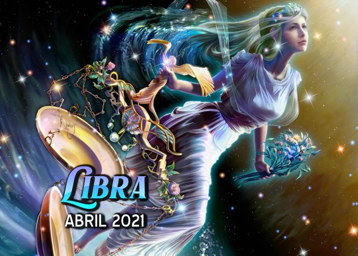 Horóscopo de Libra para abril del 2021